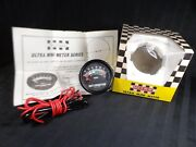 Vintage Ultra Mini Meter - Battery Condition Gauge - Japan German Auto 1960and039s