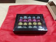 Time To Celebrate Dept 56 Tinsel Ball Light Cover 20.87702 New In Box 4 Colors