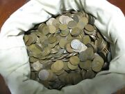 1000 Wheat Pennies 1909 - 1958 Free Shipping