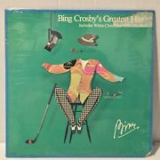 Bing Crosby's Greatest Hits Sealed Vintage Lp Record White Christmas