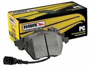 Hawk Hb739z.715 Front Performance Ceramic Brake Pads For Fiat 500 Abarth