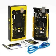 Keyestudio Mega 2560 R3 Board For Arduino Projects With Usb Cable New