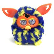2012 Hasbro Furby Boom Figure Lightning Bolts Blue And Yellow Tested