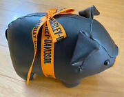 Harley-davidson Pig Plush W8.27 X H5.51 X D4.33in. New From Japan Free Shipping