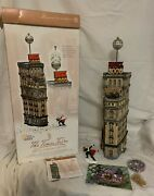 Department 56 Christmas In The City The Times Tower 2000 Special Edition Gift