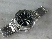 Seiko 5 Sports 7s26-01g0 Day-date Diver Automatic Black Dial Watch