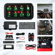 8 Gang Led Switch Panel Automatic Touch Control With Harness And Label Stickers