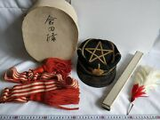 Wwii Japanese Military Imperial Soldierand039s Dress Uniform Hat Cap Boxed Set-d0714-
