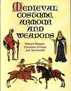 Art Book Eduard Wagner Medieval Costume. Armour And Weapons