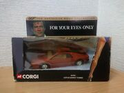 /007 Yours Eyes Only For Your Only/bond Car/2000 Corgi Lotus Esprit Turbo James