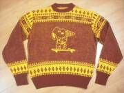 70's Peanuts/snoopy Usc Sweater Vintage Goods