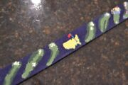 Angc Augusta National Golf Club Course Smathers And Branson Belt Needlepoint 34
