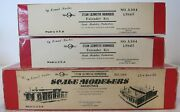 Scale Modelers Industries O Scale 3 Stall Roundhouse And 2 Extender Kits-look