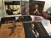 8 Frank Sinatra Lp's Records My Way Strangers In The Night Come Dance With Me