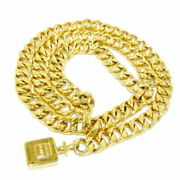 Belt Gold Chain Perfume Bottle Metal Material Secondhand _36016