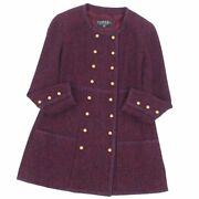 Coco Mark Button Mixed Tweed No Color Jacket Women And039s _36330