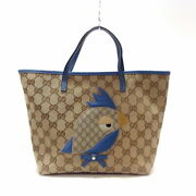 Gg Pattern Tote Bag Zoo Children's Collection Papagallo _37880