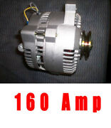 New High Amp Ford Mustang Bronco Alternator One 1 Wire 3g Small Body High Output