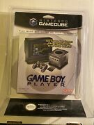 New Nintendo Gameboy Player Gamecube Sealed Complete Unopened