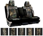 Coverking Real Tree Custom Tailored Seat Covers For Cadillac Srx
