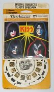 Kiss Canadian Viewmaster Sealed Aucoin 1979 French Packaging