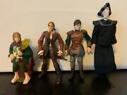 Lot 4 Chronicles Of Narnia, Pirates Of The Caribbean, Lord Of The Rings Figures