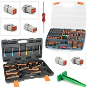 Deutsch Dt Connector Kit Solid Terminals And Pin Removal Tool Deutsch Crimper Tool