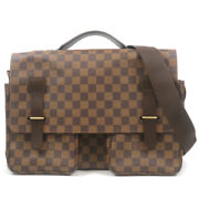 Authentic Louis Vuitton Damier Broad Way 2way Bag Brief Case N42270 Used F/s