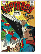 Superboy 152 12/68 Vg/f 5.0 Great Silver Age