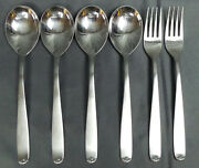 Vintage Ebel Solingen Rostfrei Stainless 2 Dinner Fork And 4 Place Spoon
