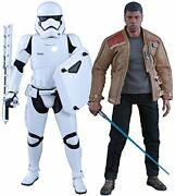 Star Wars The Force Awakens Finn And First Order Riot Control Stormtrooper 1/6 C