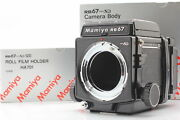 【n Mint In Box】 Mamiya Rb67 Pro Sd Body + 120 Film Back From Japan 709