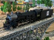 Ho Scale Walthers 4-6-2 Brass Steam Locomotive Schiltz Circus Train Detailed New