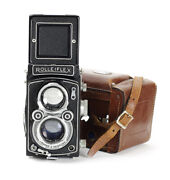 Tlr 6x6 Rolleiflex 2.8 A Model K7a With Zeiss Opton Tessar 2.8/80mm T No.1114674