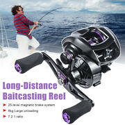 High Speed 7.21 Fishing Reel Fishing Accessories Magnetic Brake System