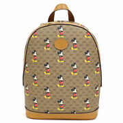 Disney Backpack Mickey Mouse Print S _38934