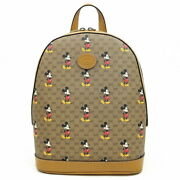 Disney Backpack Mickey Mouse Print S _39384