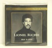 Lionel Richie - Back To Front - K2 Hd Mastering Cd - Limited Edition 0288
