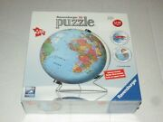 Ravensburger 3d Jigsaw Puzzle The Earth Display Stand Included 540 Piece Globe