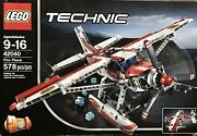 Lego Technic 42040 Fire Plane 100 Complete With Instructions And Box.