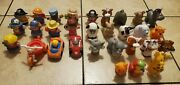 Lot Of 30 Fisher Price Little People Horses Princess And Figures + Others