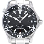 Free Shipping Pre-owned Omega Seamaster Professional 300 Black Dial 2262.50