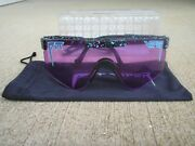 Authentic Pit Viper The Purple Reign Double Wide Pit Vipers Sunglasses