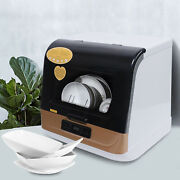 Portable Mini Tabletop Dishwasher 65℃ Washing Water Air-cooled Drying 1200w