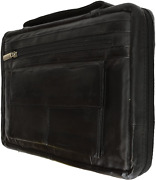 Distressed Large Leather Look Bible Book Cover Protective Case 12 X 9. Regular