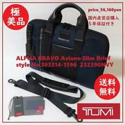 Including Postage Trial Only Guaranteed Pole Tumi 2way Briefcase Navy