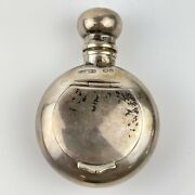 Antique Solid Silver Combination Scent Bottle And Pill Box Saunders And Shepherd