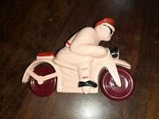Old Toy Motorcycle Made Of Bakelite - Antique