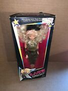 Vintage 1986 Lace Celebrity Rock Star Fashion And Fame Doll New In Box