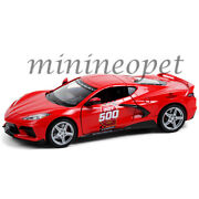 18258 2020 Chevrolet Corvette C8 Stingray 104th Indy 500 Pace Car 1/24 Red